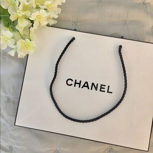 CHANEL Gift Bag - White